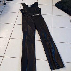 Plein Sud  Leather Suit
